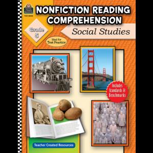 TCR8030 Nonfiction Reading Comprehension: Social Studies, Grade 5 Image