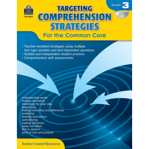 TCR8035 Targeting Comprehension Strategies for the Common Core Grade 3 Image