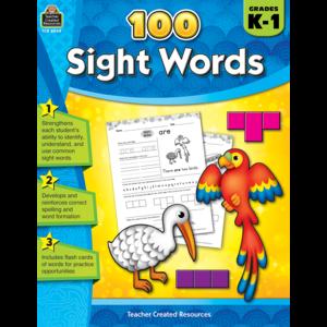 TCR8049 100 Sight Words Grades K-1 Image