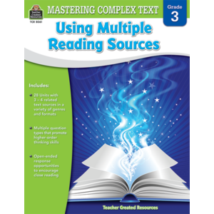 TCR8061 Mastering Complex Text Using Multiple Reading Sources Grade 3 Image