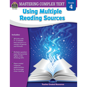TCR8062 Mastering Complex Text Using Multiple Reading Sources Grade 4 Image