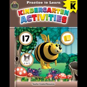 TCR8205 Practice to Learn: Kindergarten Activities Image