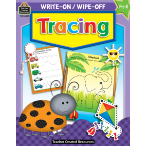 TCR8215 Tracing Write-On Wipe-Off Book Image