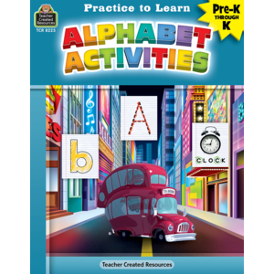 TCR8225 Practice to Learn: Alphabet Activities Image