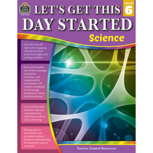 TCR8266 Let's Get This Day Started: Science Gr 6 Image