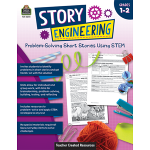TCR8273 Story Engineering: Problem-Solving Short Stories Using STEM (Gr. 1–2) Image