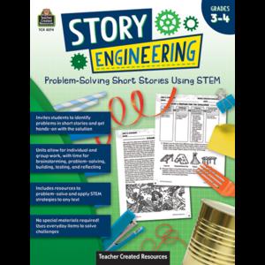 TCR8274 Story Engineering: Problem-Solving Short Stories Using STEM (Gr. 3–4) Image
