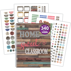 TCR8294 Home Sweet Classroom Lesson Planner Image