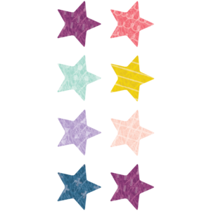 TCR8337 Oh Happy Day Stars Mini Stickers Image