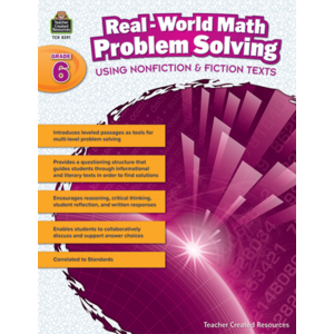 TCR8391 Real-World Math Problem Solving Grade 6 Image