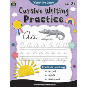 TCR8405 Watch Me Learn: Cursive Writing Practice Image
