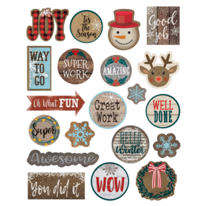 TCR8461 Home Sweet Classroom Winter Stickers Image