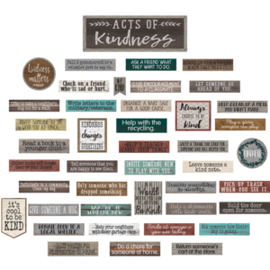 TCR8462 Home Sweet Classroom Acts of Kindness Bulletin Board Image