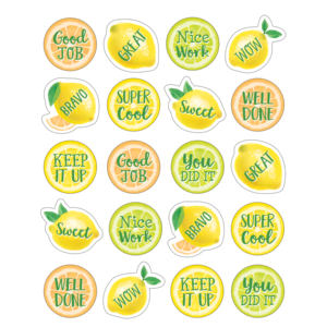 TCR8484 Lemon Zest Stickers Image