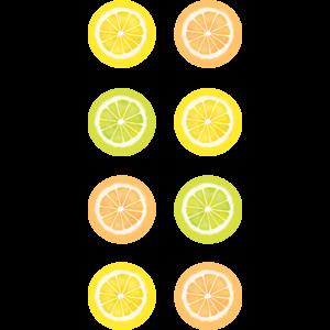 TCR8485 Lemon Zest Mini Stickers Image
