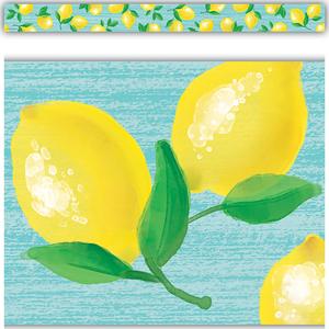 TCR8489 Lemon Zest Straight Border Trim Image