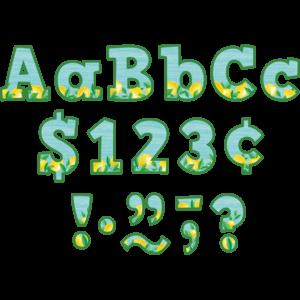 "TCR8497 Lemon Zest Bold Block 4"" Letters Combo Pack Image"