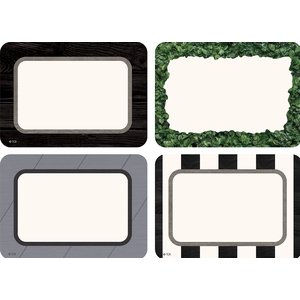 TCR8527 Modern Farmhouse Name Tags/Labels - Multi-Pack Image