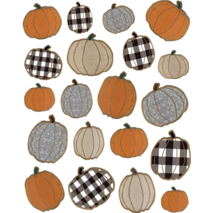 TCR8560 Home Sweet Classroom Pumpkins Stickers Image