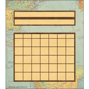 TCR8564 Travel the Map Incentive Charts Image