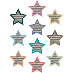 TCR8638 Home Sweet Classroom Stars Accents Image
