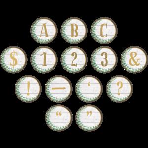 TCR8726 Eucalyptus Circle Letters Image