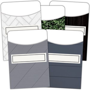 TCR8832 Modern Farmhouse Library Pockets - Multi-Pack Image
