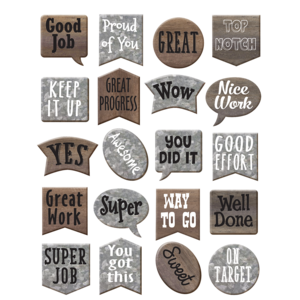 TCR8835 Home Sweet Classroom Stickers Image