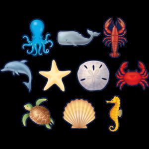 TCR8895 Nautical Sea Life Accents Image