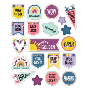 TCR9054 Oh Happy Day Stickers Image