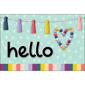 TCR9056 Oh Happy Day Hello Postcards Image