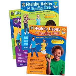 TCR9979 Healthy Habits for Healthy Kids Set (4 bks) Image
