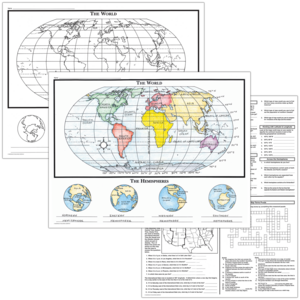 TCRM231 Basic Map Skills Map Activity Posters Image