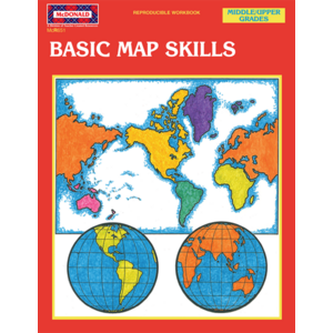 TCRR651 Basic Map Skills Reproducible Workbook Image