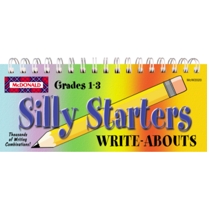 TCRW2020 Silly Starters Write-Abouts Grades 1-3 Image
