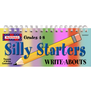 TCRW2027 Silly Starters Write-Abouts Grades 4-8 Image