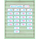 Mint Green Painted Wood 10 Pocket Chart Alternate Image A