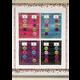 Confetti Colorful Magnetic Mini Pocket Charts Alternate Image B