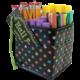 Chalkboard Brights Desktop Organizer Alternate Image A