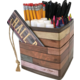 Reclaimed Wood Desktop Organizer Alternate Image A