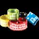 Polka Dots Happy Birthday Slap Bracelets Alternate Image A