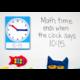 Magnetic Foam Geared Clock - Large Alternate Image B