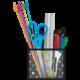 Chalkboard Brights Magnetic Storage Pocket Alternate Image A
