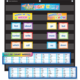 First 100 Sight Words Pocket Chart Cards Pre K-2 Alternate Image A