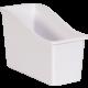 White Plastic Book Bin 6 Pack Alternate Image A