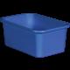 Blue Small Plastic Storage Bin 6 Pack Alternate Image A