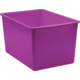 Purple Plastic Multi-Purpose Bin 6 Pack Alternate Image A