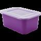 Small Clear Plastic Storage Bin Lids 6-Pack Alternate Image B