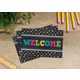 Chalkboard Brights Welcome Postcards Alternate Image A