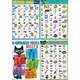 Pete the Cat Phonics Small Poster Pack Alternate Image B